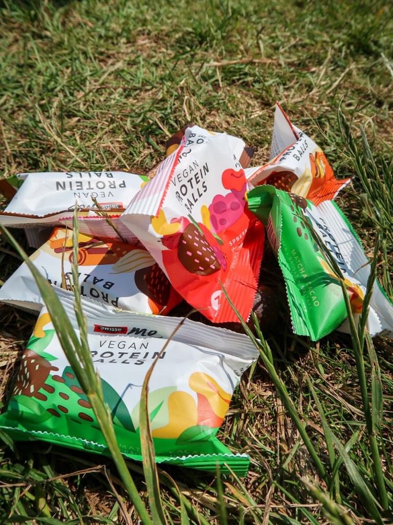 hiking essentials protein balls