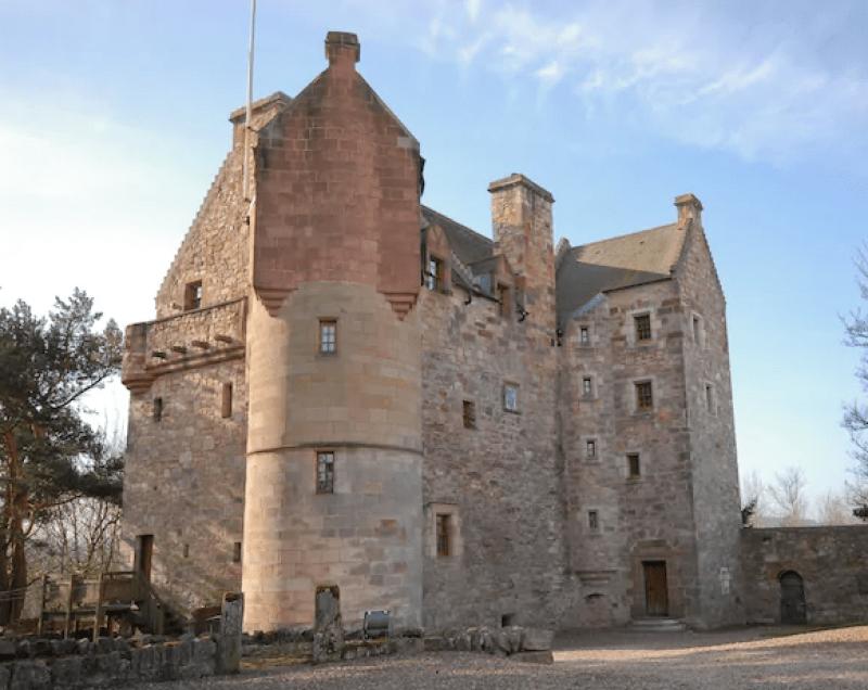 unique airbnb stays uk castle