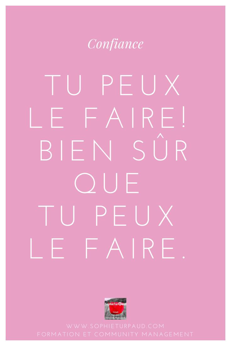 Peut Tu Ou Peux Tu : Citation, Faire, @sophieturpaud, Agence, SophieTurpaud