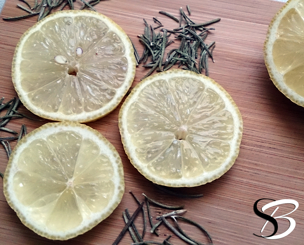 SB - Lemon Rosemary Facial Steam Cleanse