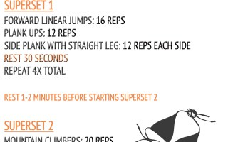 No Equipment Total Body Bikini Workout - Sophisticated Booty