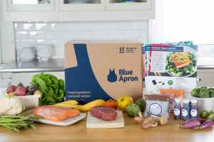 blue apron, food