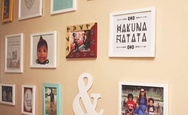 Diy Photo Gallery Wall Best Of Decor Disney Lifestyle