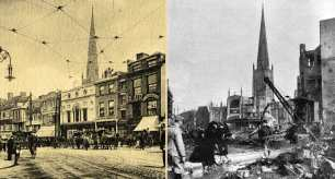 Broadgate Before and After the Blitz