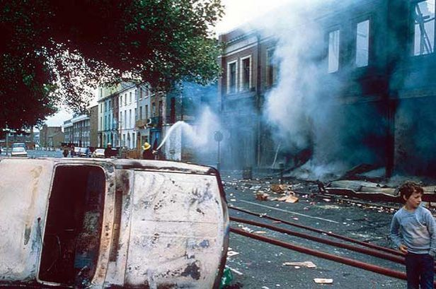 Riots during the 1980's