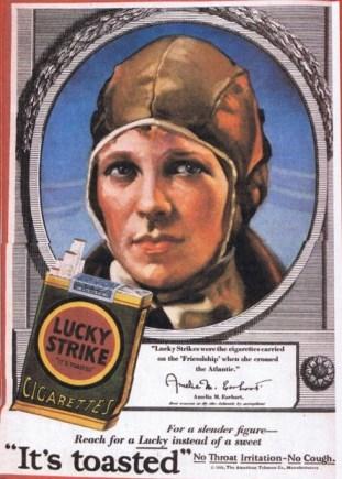 Ameila Earhart Lucky Strike