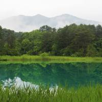 Goshiki-numa, Five-colored Lakes in Fukushima Prefecture, Japan
