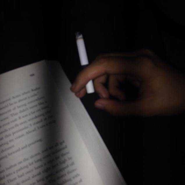 cigarettes ashes on tinted windows