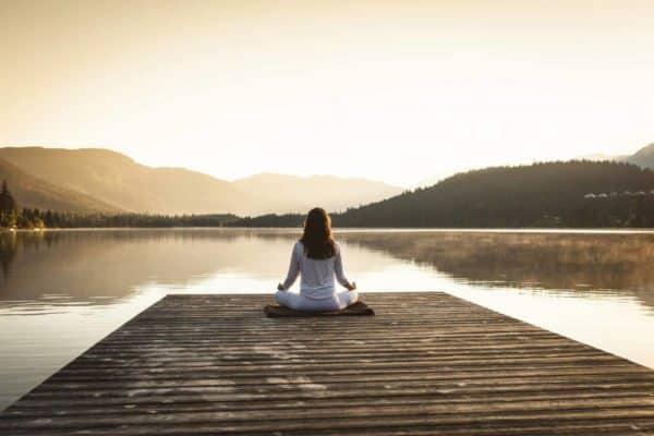 Prendre le temps poser tranquille et détendu
