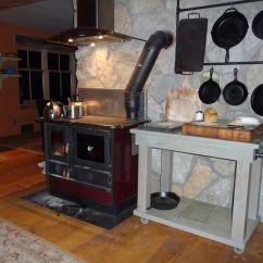 Kitchen Cook Stoves Knives Magnum Wood Burning Stove Sopka Inc