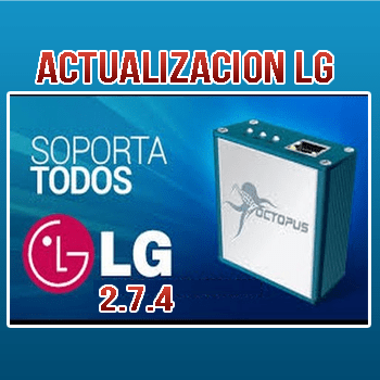 Actualización Octoplus/Octopus Box LG Software v.2.7.4
