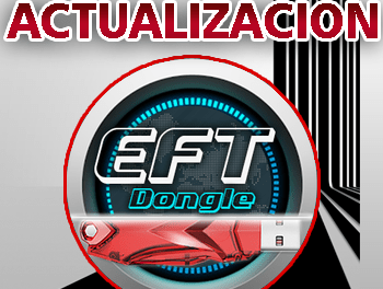 Actualización EFT Dongle version 1.2.7 Hardware y Software