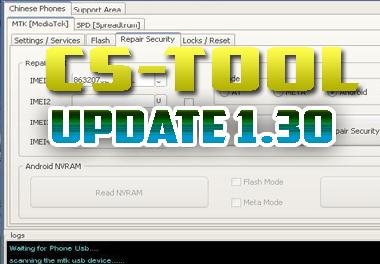 Actualización CS-TOOL 1.30