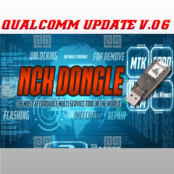 Actualización Nck Dongle / Nck PRO Modulo Qualcomm V 0.6