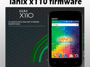 Lanix x110 firmware telcel