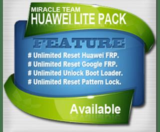 MIRACLE HUAWEI TOOL Ver 1.8