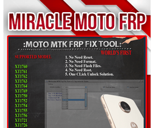 Miracle Box MOTO MTK FRP FIX TOOL 1.1