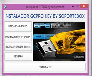 INSTALADOR DE GCPRO KEY