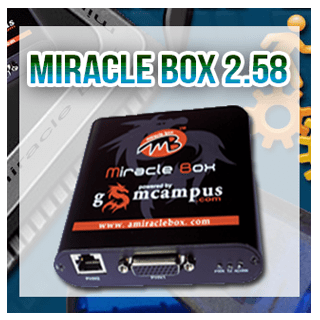 Miracle box versión 2.58