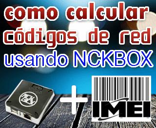 Como calcular códigos con Nckbox