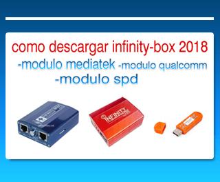 como descargar infinitybox modulo mediatek, qualcomm y spd 2018