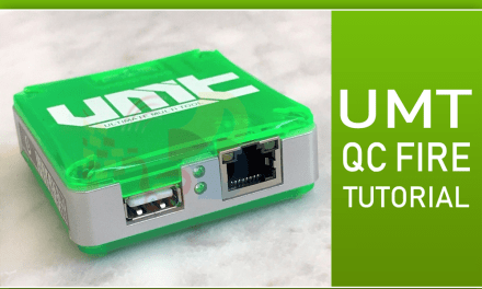 Como usar UMT BOX Modulo QC FIRE