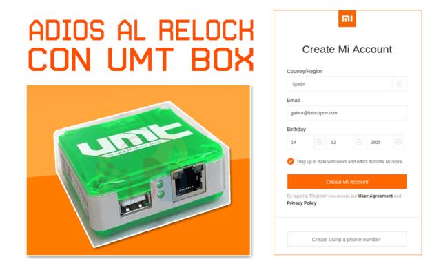 UMT BOX QC FIRE 3.2 ADIOS AL RELOCK EN XIAOMI