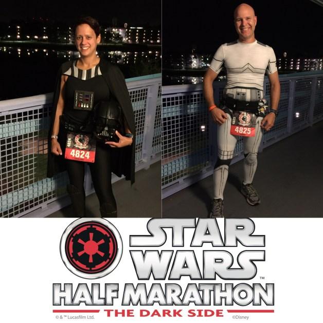 Race Recap: Star Wars Dark Side Half Marathon!