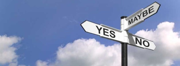 Decisions, Decisions…