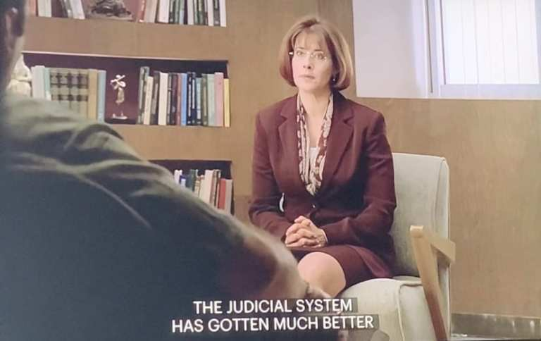Dr. Melfi is talking to Tony in Boca