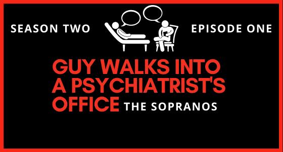 Guy Walks Into A Psychiatrist's Office For The Amazing Sopranos Season 2