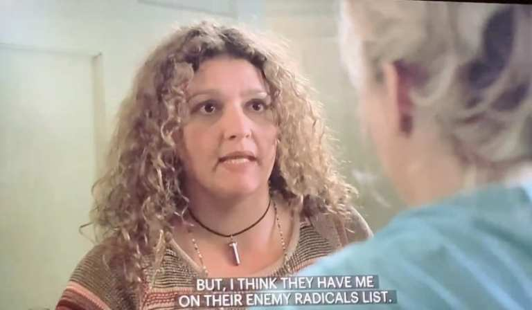 Janice Soprano talking to Carmela