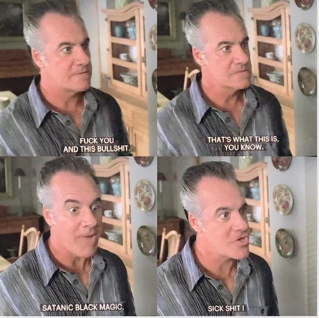 Paulie Walnuts at the psychic