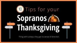 The Sopranos Thanksgiving