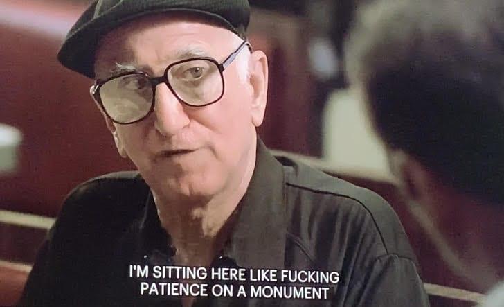 Junior Soprano talking to Tony in Meadowlands Season 1 Episode 4
