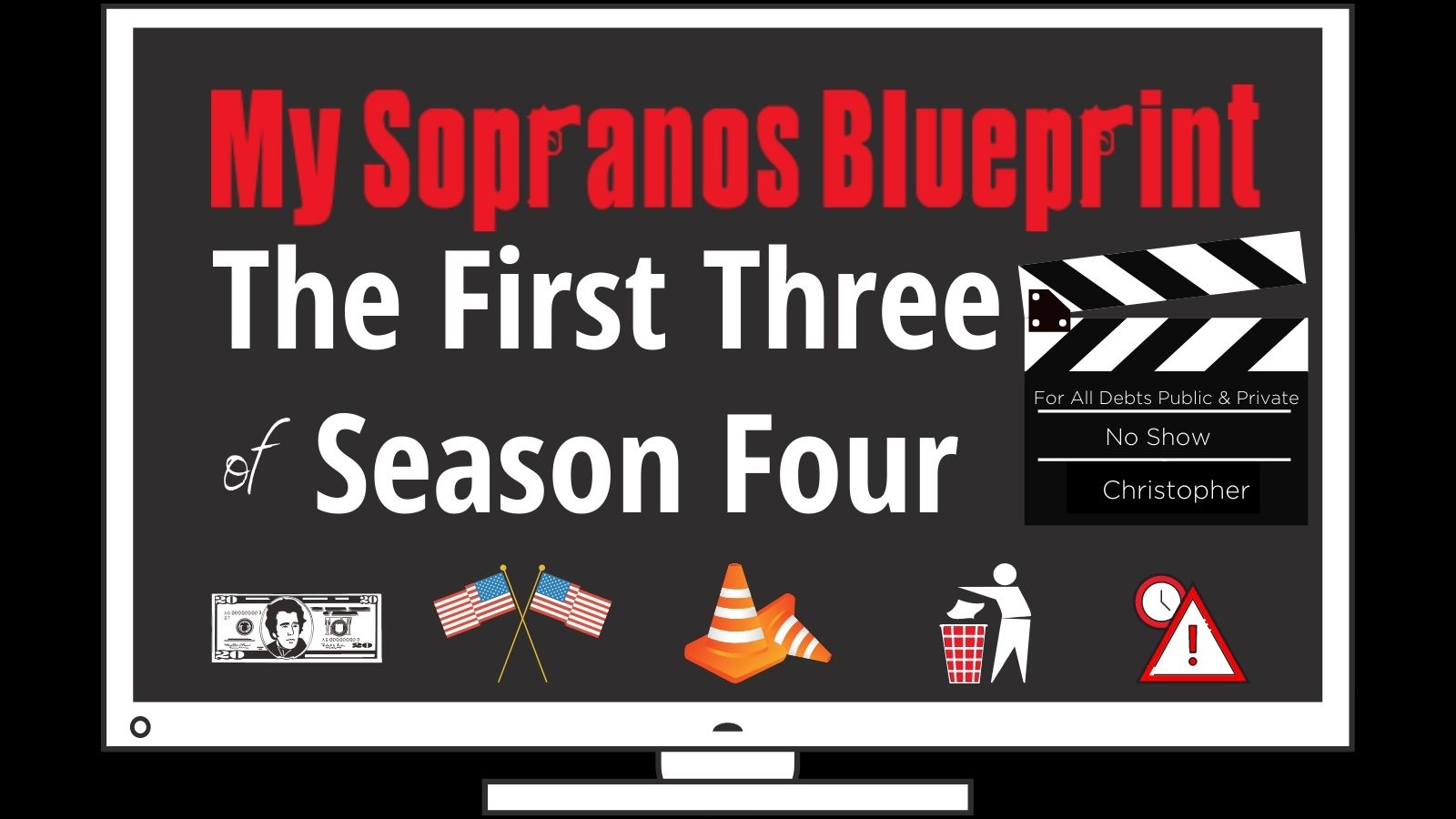 The first three episodes of the sopranos season four