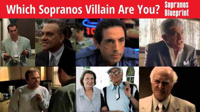 sopranos villain quiz