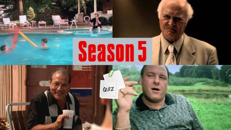 Images from the sopranos season five.