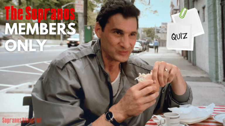 sopranos members only trivia