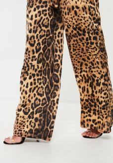 pantalon-large-marron-imprim-lopard