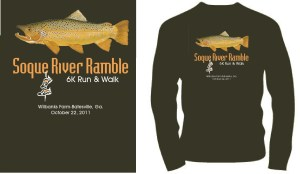 2011 Soque River Ramble T-shirt