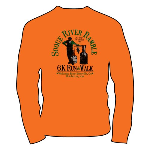 2012 Soque River Ramble T-shirt Revealed!