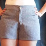 maritime shorts | basic stitch