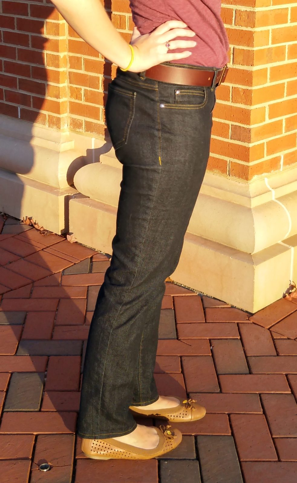 ginger jeans | basic stitch