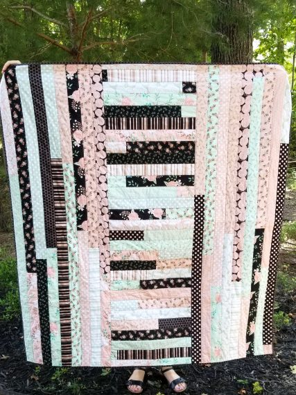 all but dissertation jelly roll quilt top | so rachel sews