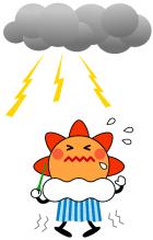 雷について~身を守る方法を中心に
