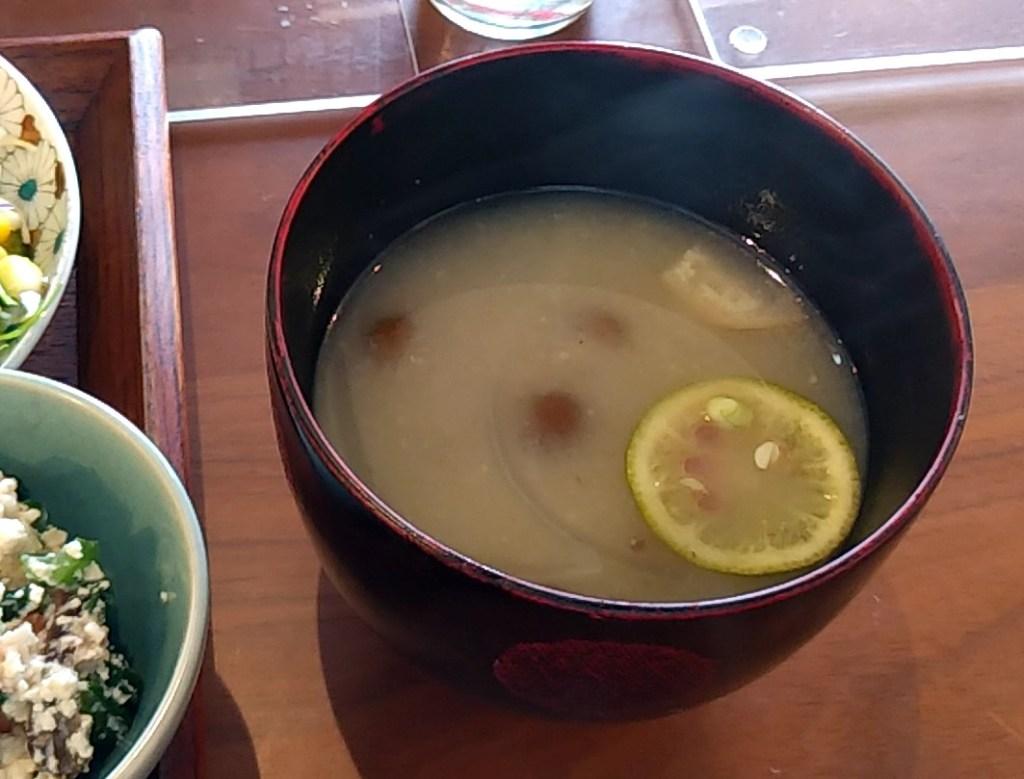 穐の実味噌汁