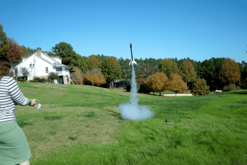 Homemade Rocket Launch - Sora High School Project