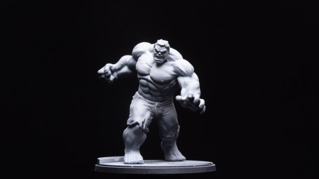 Hulk with Zenithal Highlights (1 of 3)