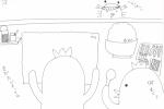 7/8 サビアン 蟹座16度「広場の前で手書きの巻き物を広げている男」